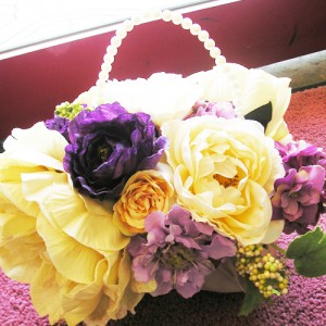 バック型bouquet