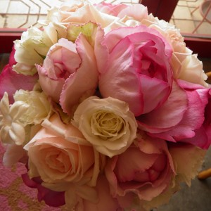 Cute ラウンド bouquet(P)