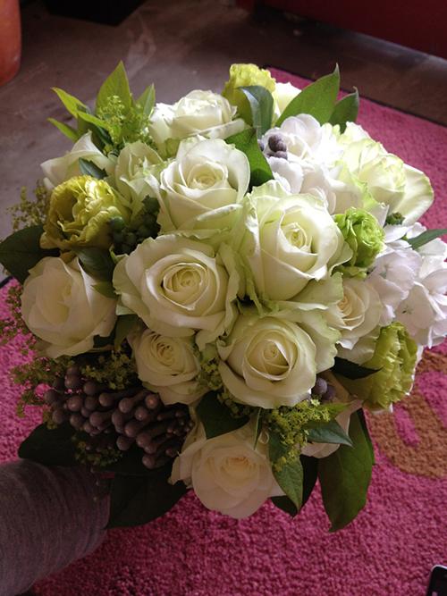 バラのnatural bouquet(W・G)