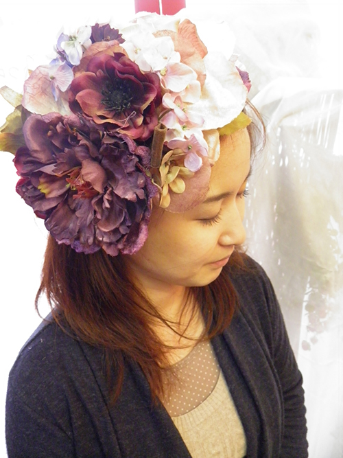 flower カチューシャ