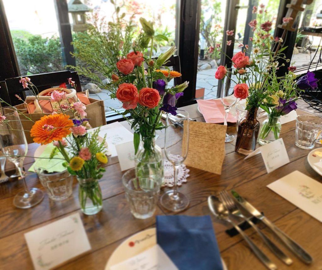 spring tabledecoration