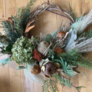 dryflower wild wreath